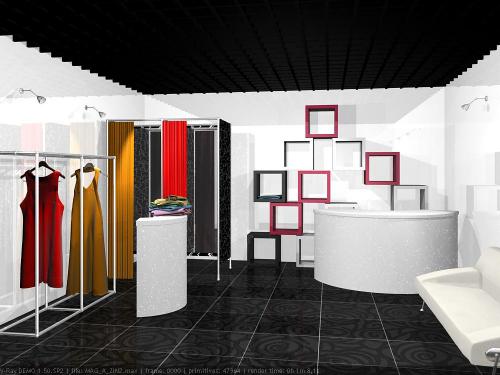 Дизайн интерьера модного бутика (предложения)