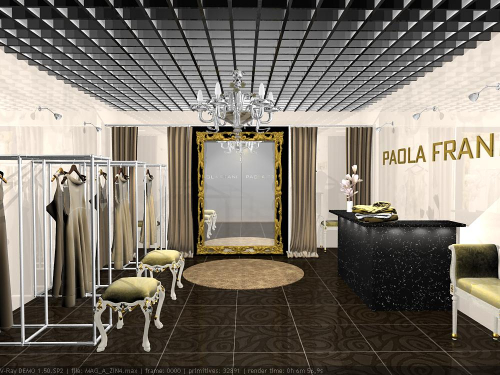 Разработка дизайна модного бутика