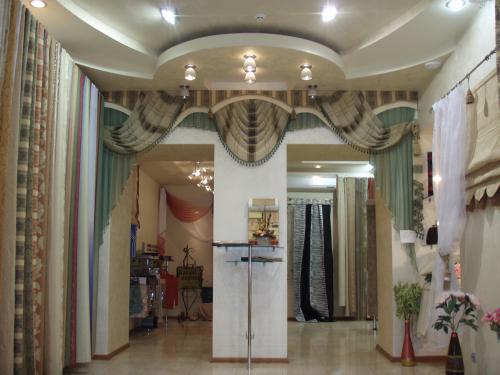 Дизайн интерьера салона штор
