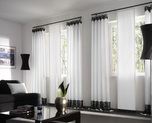 Дизайн штор в современном интерьере